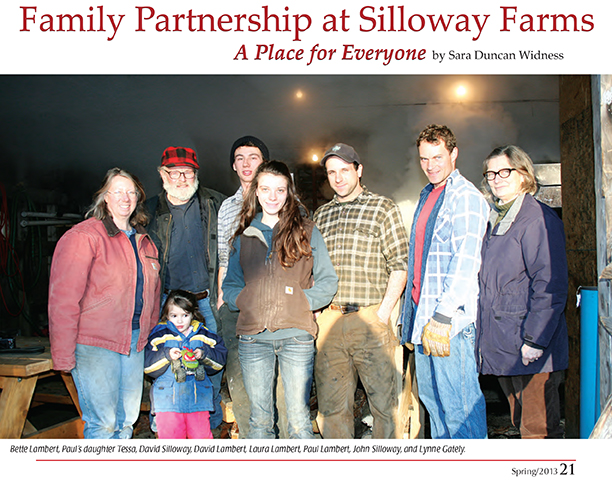 Family Partnership at Silloway Farms