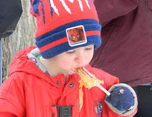 Maple Sugar on Snow