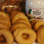 Raised Donuts and Maple Syrup