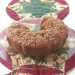 Maple Nut Sour Cream Coffee Cake