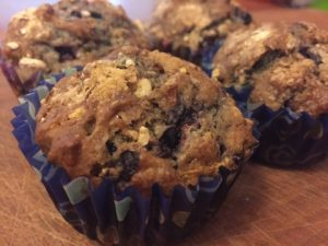 Maple Blueberry Muffins