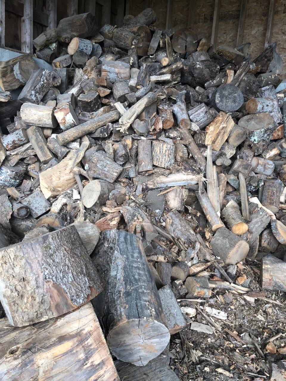 pile of wood shorts